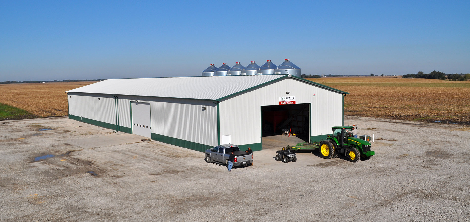 Agriculture Buildings, Pole Barns, Sheds, Workshops Machine Sheds, Cattle Barns and more.