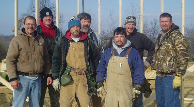 The Custom Structures Building Crew